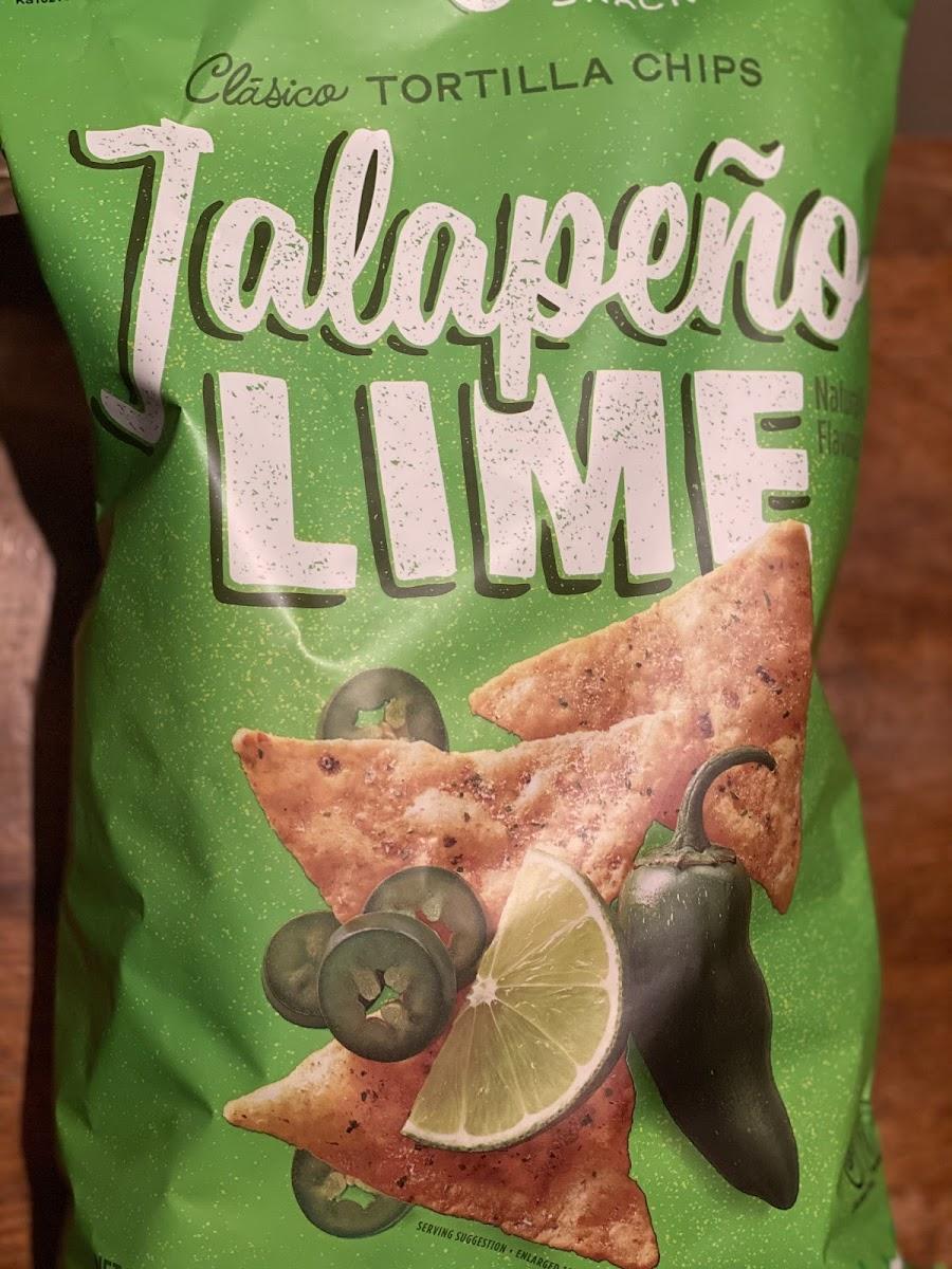 Tortilla Chips-Jalapeno Lime