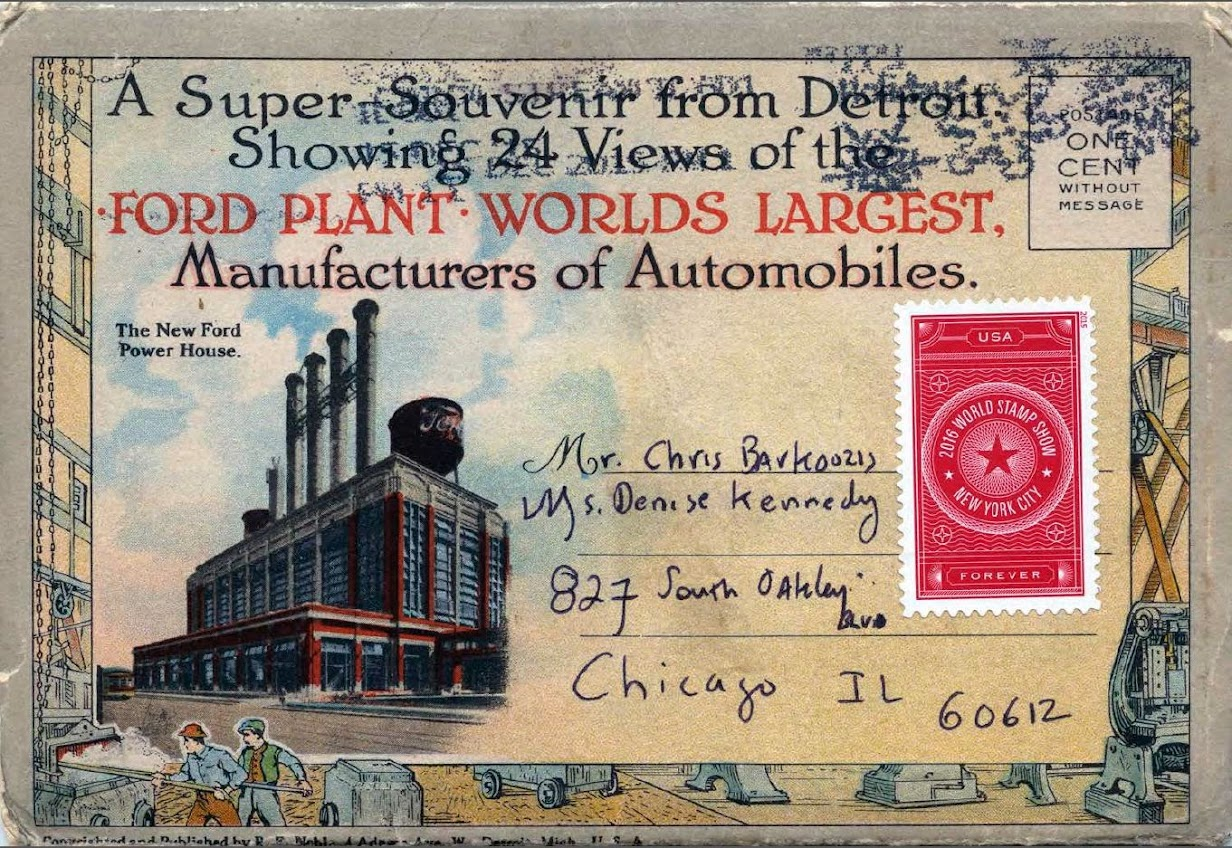 Postcards of Ford Plant 1920s