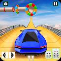 Crazy Car Sky Stunts Impossible Tracks Car Racing icon