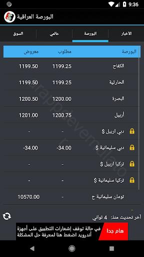 البورصة العراقية  Iraq Boursa screenshot 12