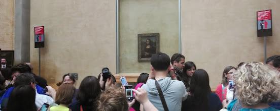 Photo: Mona Lisa and friends