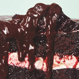 Vegan Black Forest Cherry Cake.