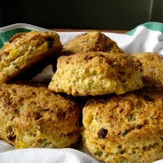 Cheddar Cheese Biscuits With Green Chilies Recipes.