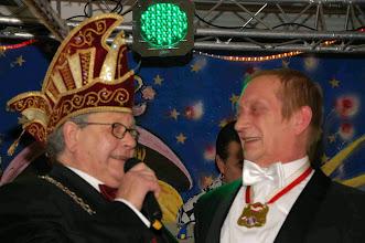 Photo: President en de Nieuwe Prins