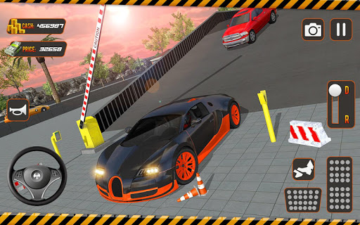 real driving car parking: us car driving school screenshot 2