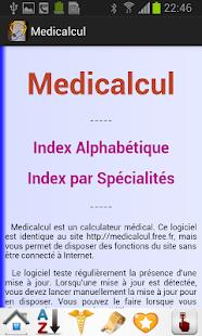 Medicalcul - náhled