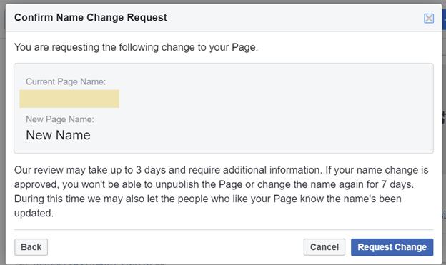 Đăng ký tên trang Facebook