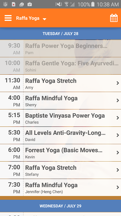 Raffa Yoga- screenshot