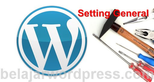 Cara setting general wordpress