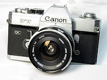 Photo: First SLR Canon FT-QL 1966