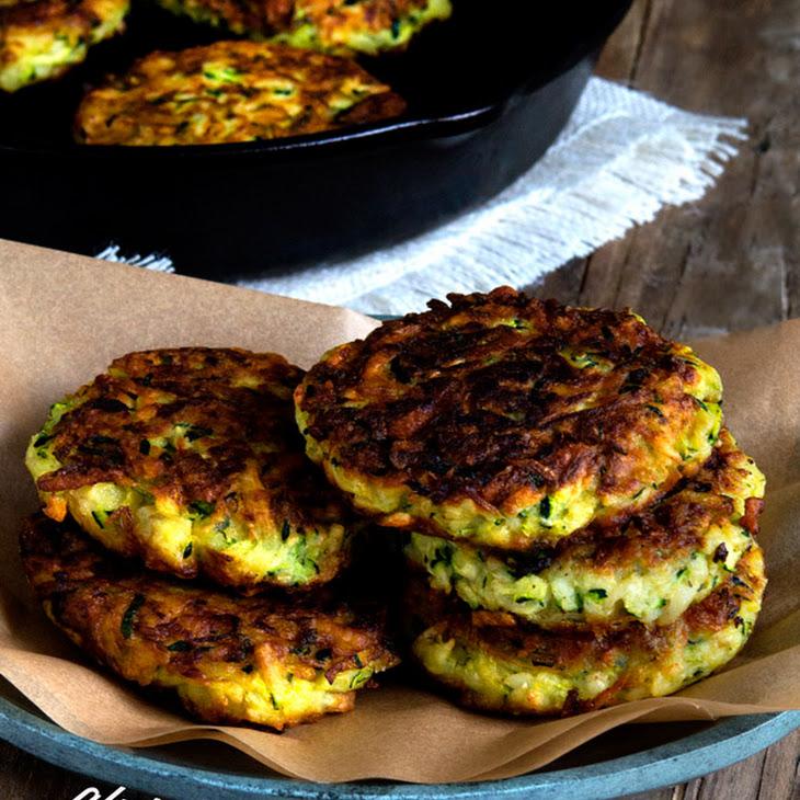 Gluten Free Zucchini Fritters Recipe