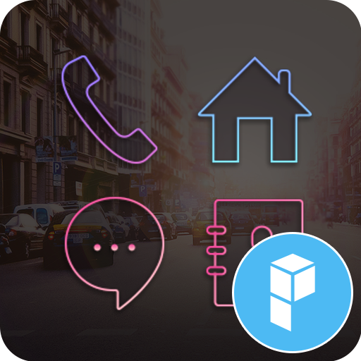In The City launcher theme