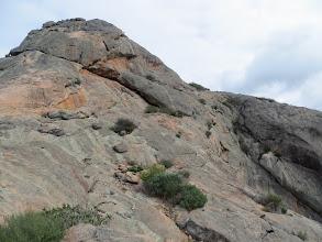 Photo: The Peak and Luly just below the Peak