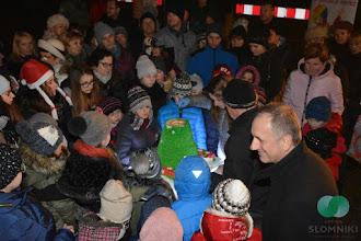 Photo: Wigilia dla mieszkańców na Rynku w Słomnikach