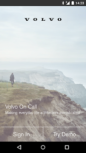 Volvo On Call- screenshot thumbnail