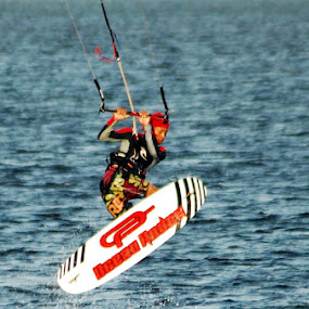Kiteboarding by Enggus Fatriyadi - Sports & Fitness Watersports