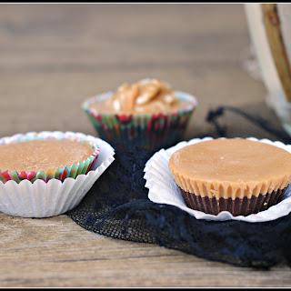 Sugar-Free Chocolate Peanut Butter Cups {vegan}
