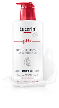 //Loción EUCERIN ph5   piel sensible x400ml