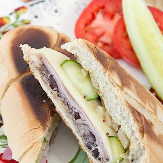 Healthy Cuban Pork & Beans Sandwich