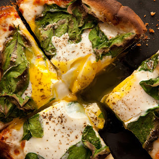 Breakfast Pita-Pizza
