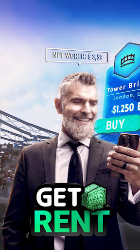 GET RENT - The Business Game  captures d'u00e9cran 1