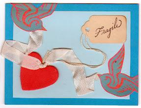 Photo: Wenchkin's Mail Art 366 - Day 181, card 181a