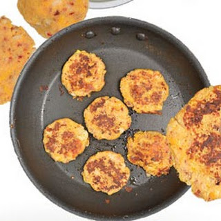Cheddar Chipotle Potato Cakes