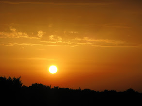 Photo: Piękny wrześniowy wschód słońca przy goleniu