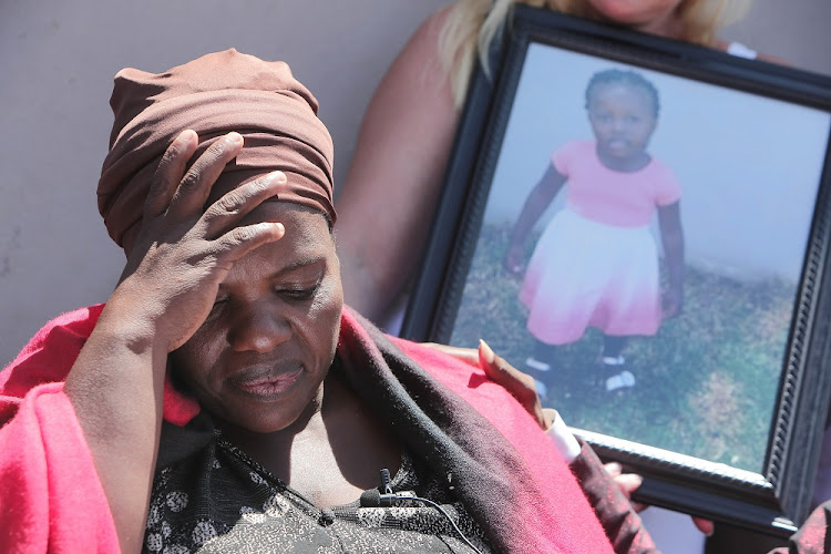 3 January 2017. Nontombi Gwam the mother of Letoya, the three year old child who died in an ambulance, becomes emotional during talks at a press conference on the incident In Daveyton, Ekurhuleni. The toddler was being transported from Incredible Happenings Ministry where Pastor Mboro was giving a service.