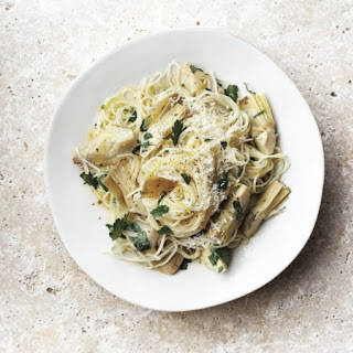 Artichoke And Lemon Pasta For Dinner Tonight