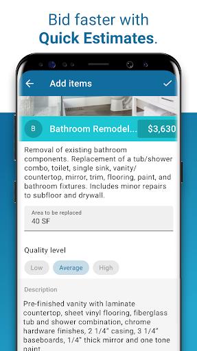 XactRemodel GO - Quickly build winning bids screenshot 5