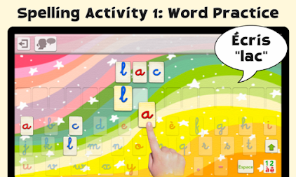 French Word Wizard - Learn to read and spell APK screenshot thumbnail 4