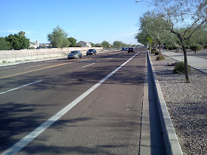 Photo: 48th Street, Phoenix; just north of Frye Rd.