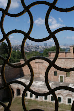 Photo: A view of Istanbul from the harem. Captivity would have sucked.