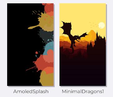 AmoledWalls - Wallpaper [S10 hole punch Walls] Screenshot