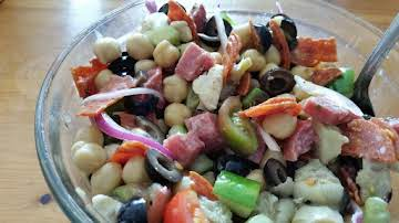 Italian Garbanzo Bean Salad