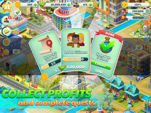 Town City - Village Building Sim Paradise Game 2.2.3 screenshots 14