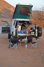 Photo: Allein in der Wüste