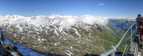 Photo: Aussicht von Dalsnibba (1500m) (HDR)