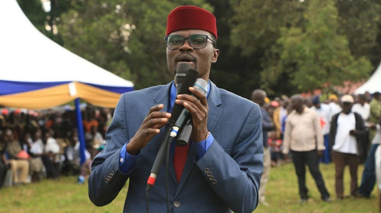 I feel terrible for losing my trademark cap during Kibra poll, says Didmus