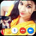 Girl Fake Video Call - Feel Girlfriend Call icon