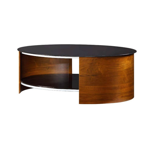 Jual Curve Walnut JF301 Coffee Table