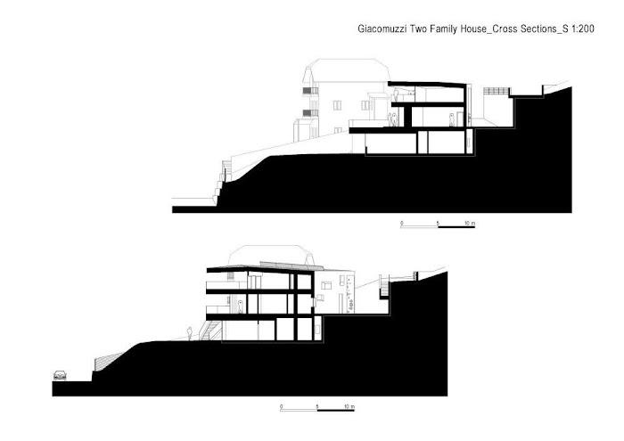 Casa Giacomuzzi para dos Familias - Monovolume architecture + design