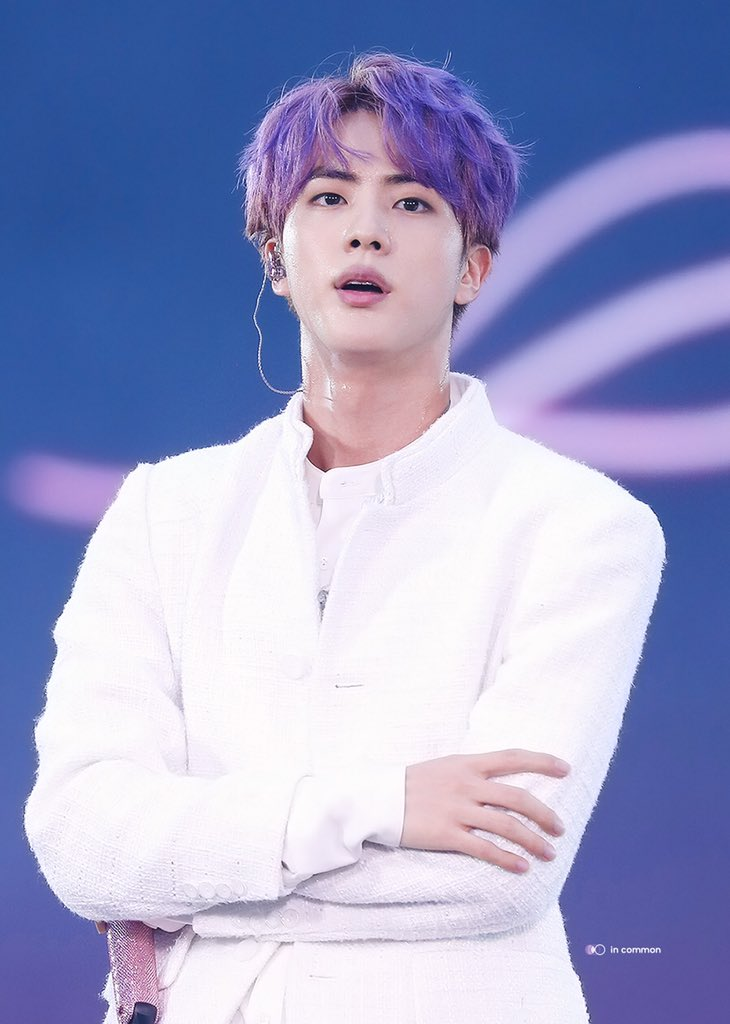 bts jin purple hair 2