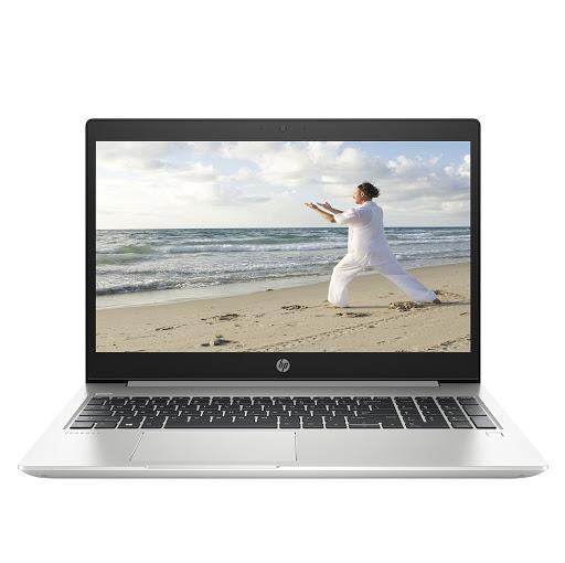 Máy tính xách tay/ Laptop HP ProBook 455 G6-6XA63PA (AMD Ryzen 7 2700U) (Bạc)