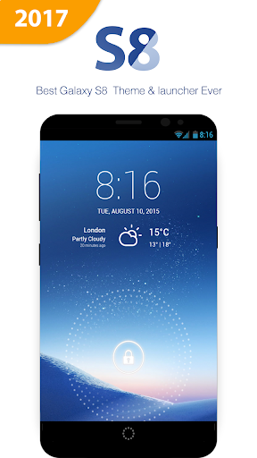 Download Cool S8 Theme, Launcher, Icon pack for Galaxy S8 Google