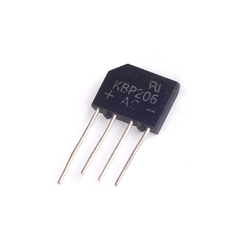 Linh kiện điện tử - Diode cầu 2A-600V KBP206