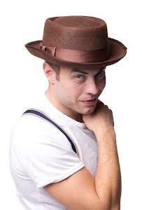 Hatt, brun