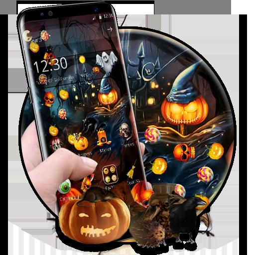 Spooky happy Halloween Gravity Theme