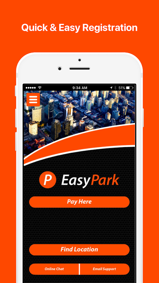 EasyPark Parking- screenshot